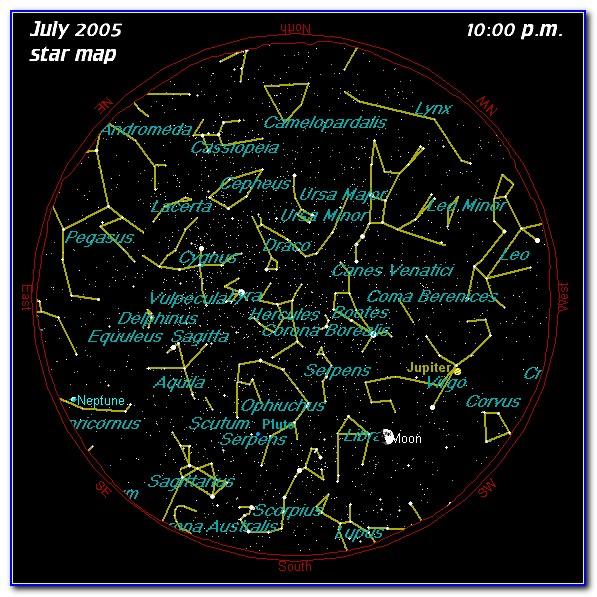 Star Map Astronomy App