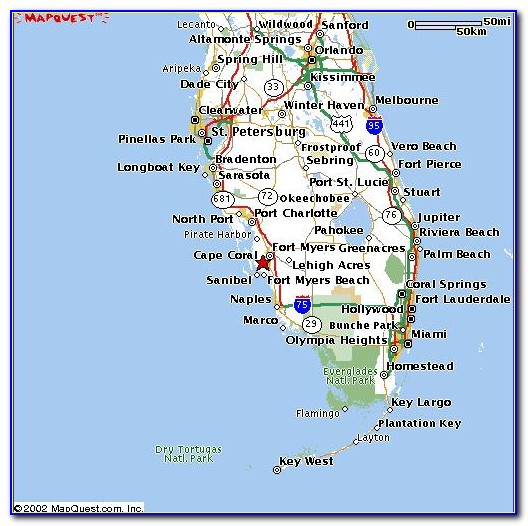 Street Map Cape Coral Florida