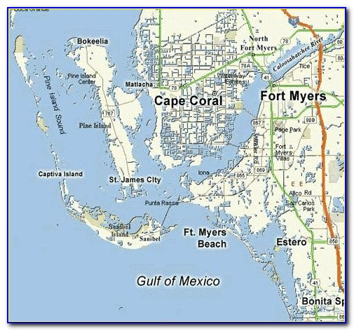 Street Map Ft Myers Florida