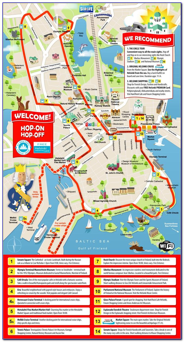 Sydney Hop On Hop Off Bus Map