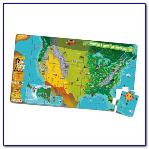 Talking Usa Map Puzzle