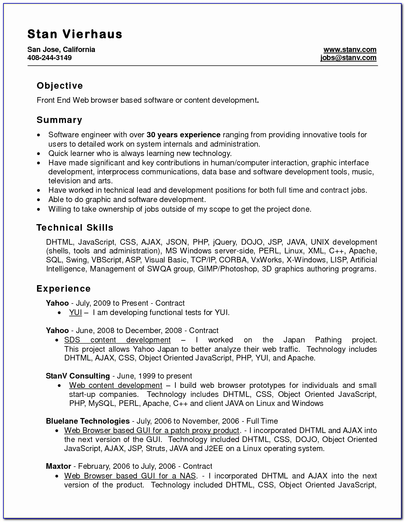 Or Word Format Resume Free Download