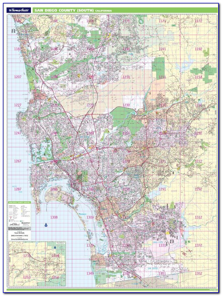 Thomas Brothers Map Online San Diego
