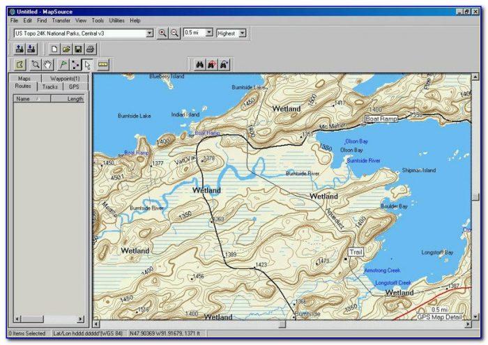 Topo Map For Garmin Etrex 20