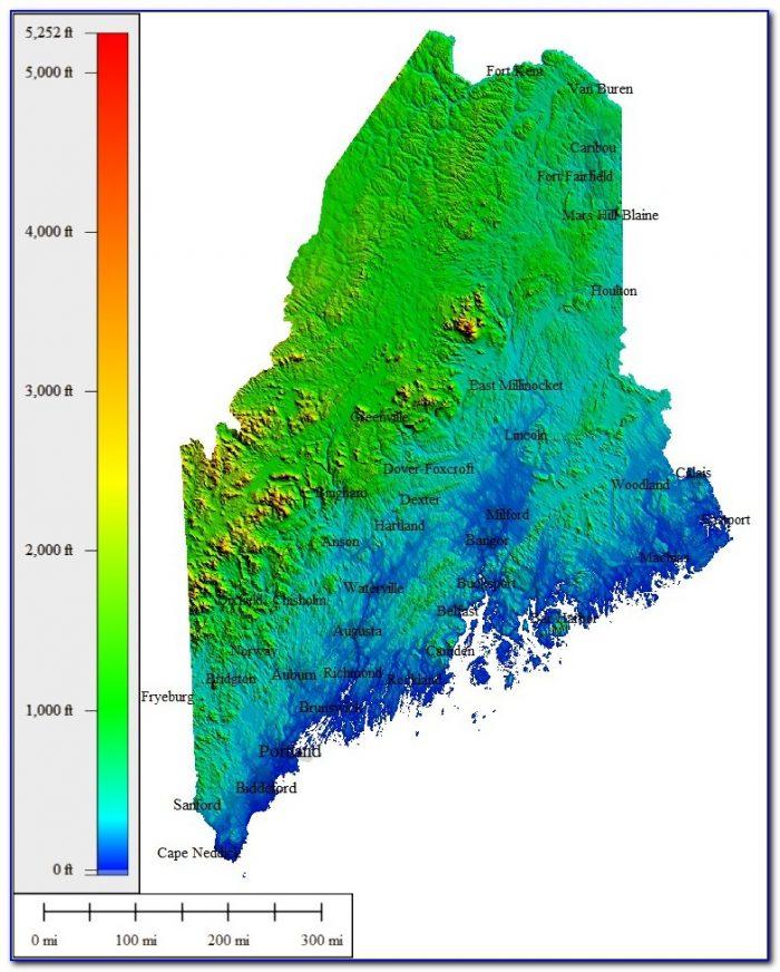 Topo Maps Maine Free