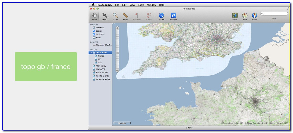 Topo Outdoor Recreation Mapping Software
