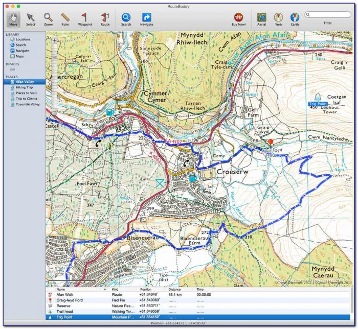 Topo Us Mapping Software