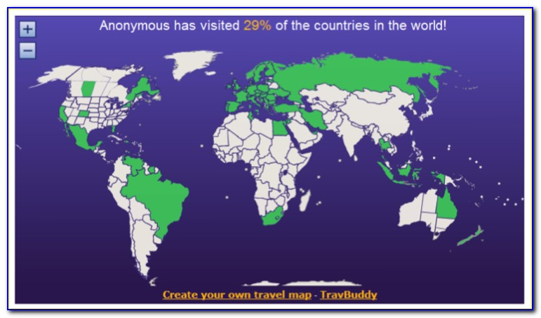 Travel Buddy World Map