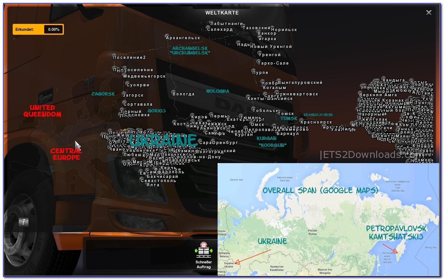 Trucker Maps Online Free
