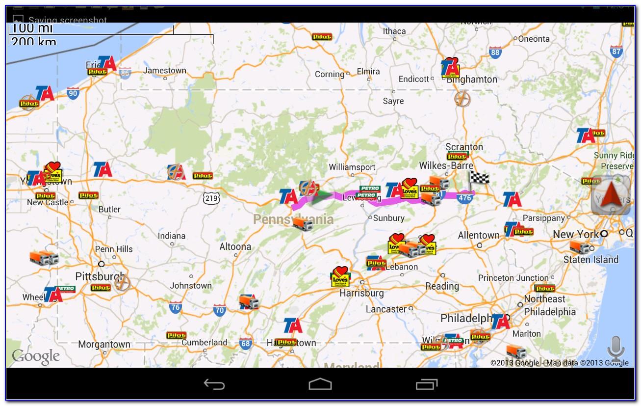 Trucker Road Maps