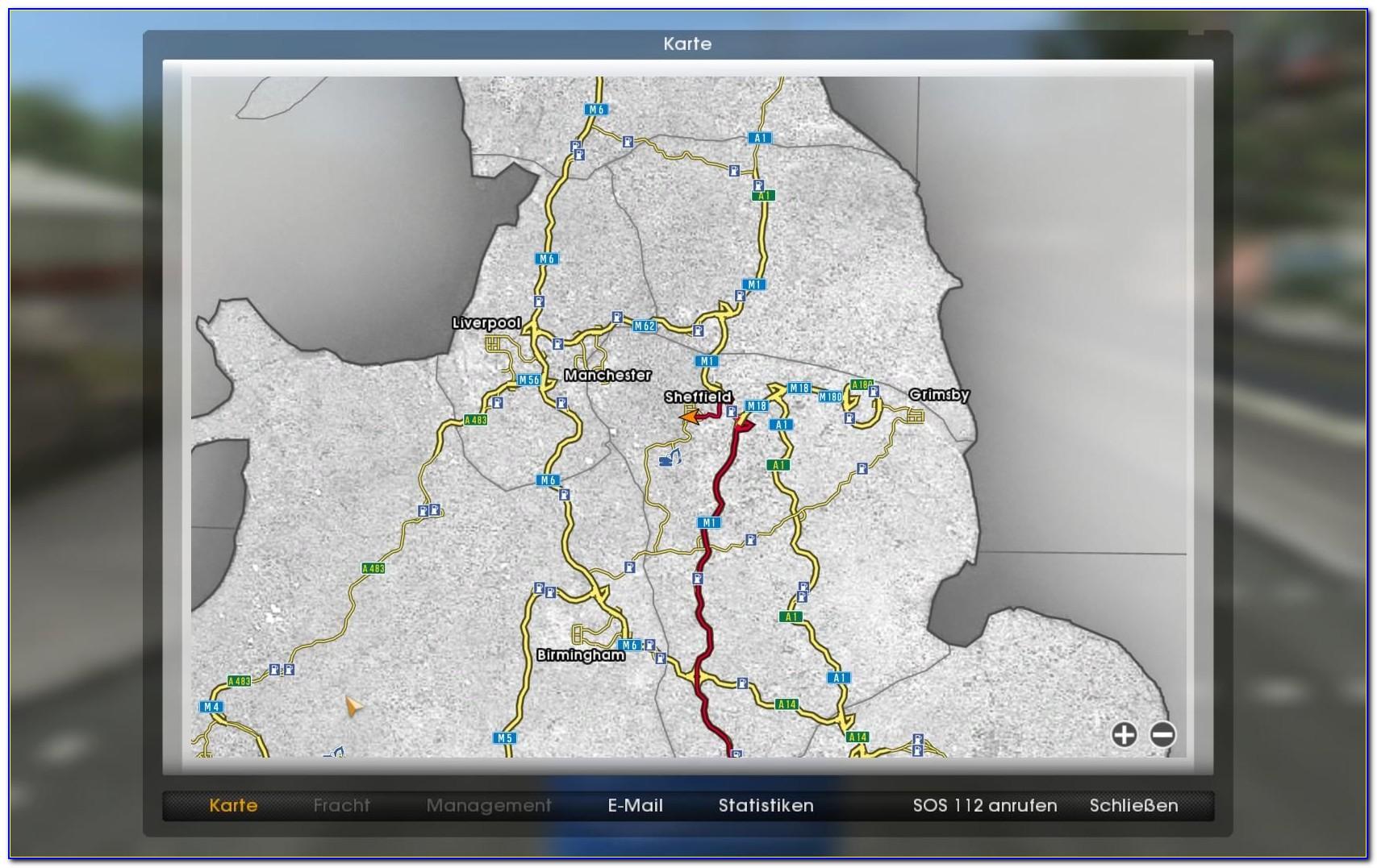 Truckers Road Map App