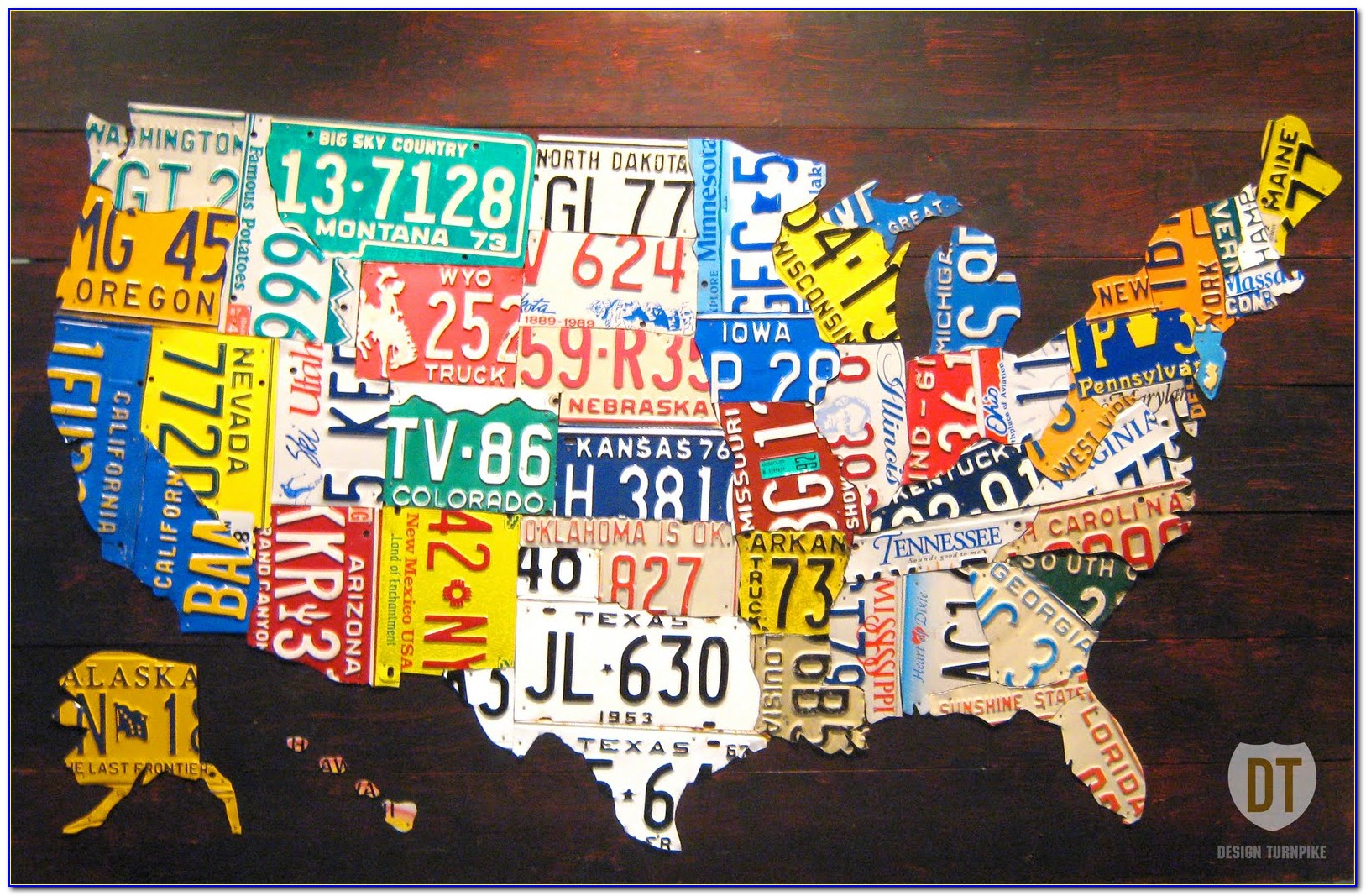 United States Map License Plate Game - Maps : Resume ...