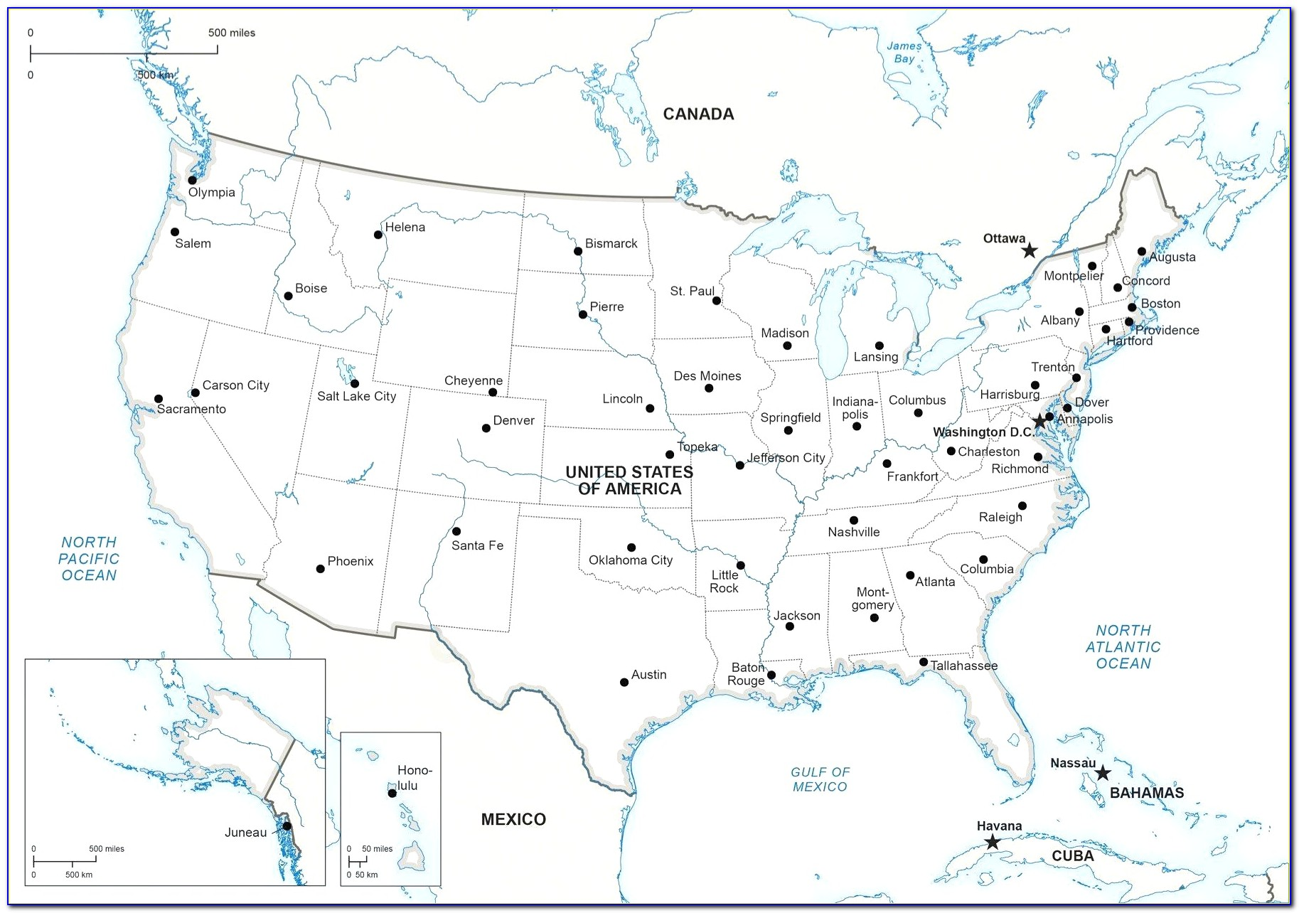 Us Map Showing Interstate 40