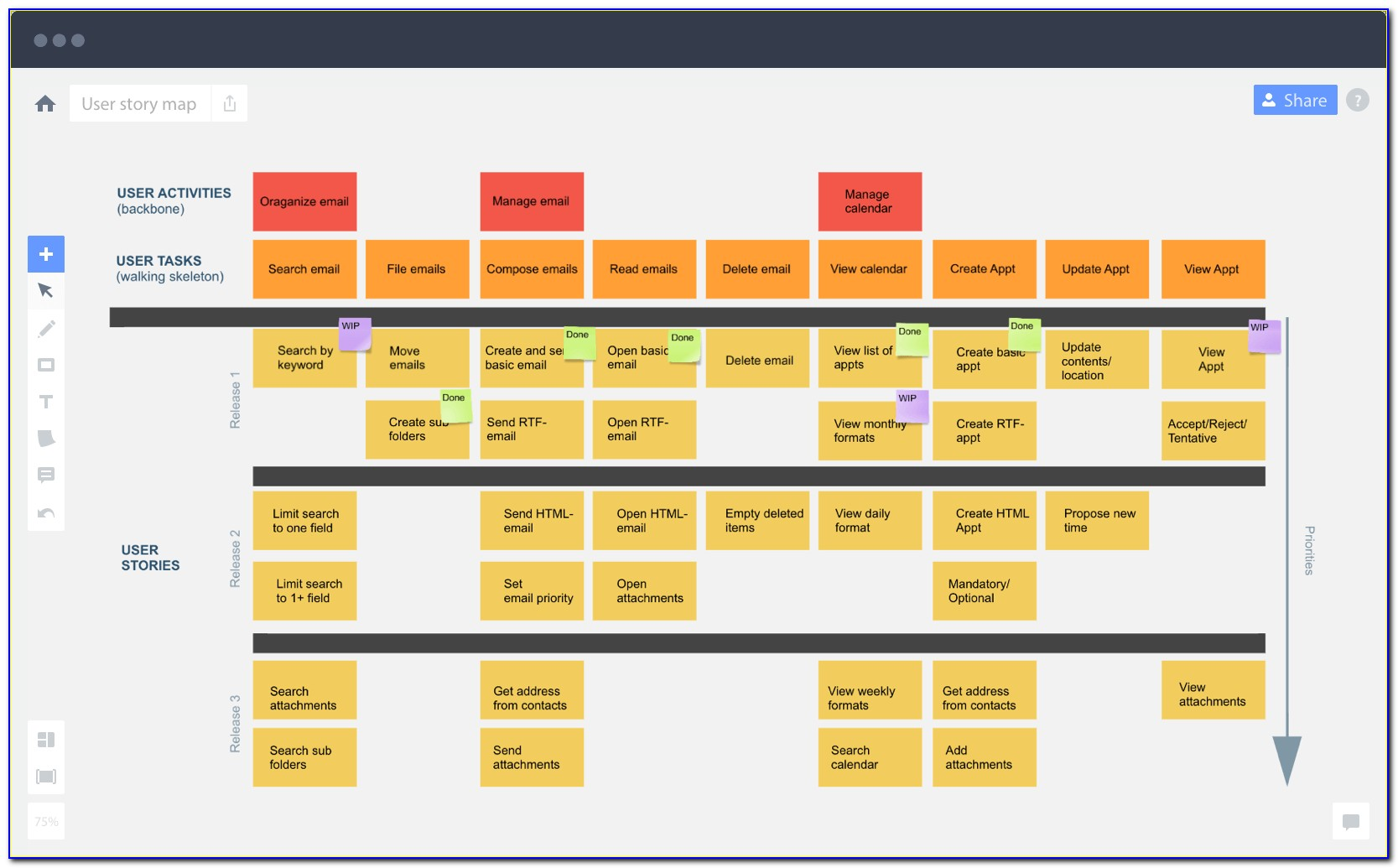 User Story Mapping Software Free