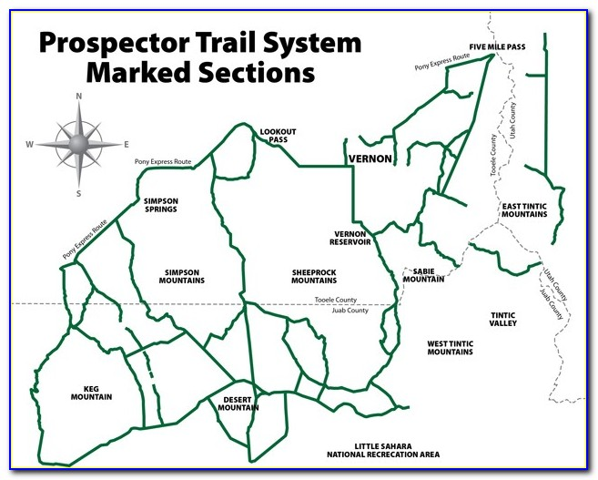 Utah Arapeen Ohv Trail Map