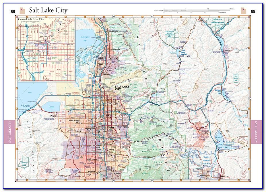 Utah Atlas Map