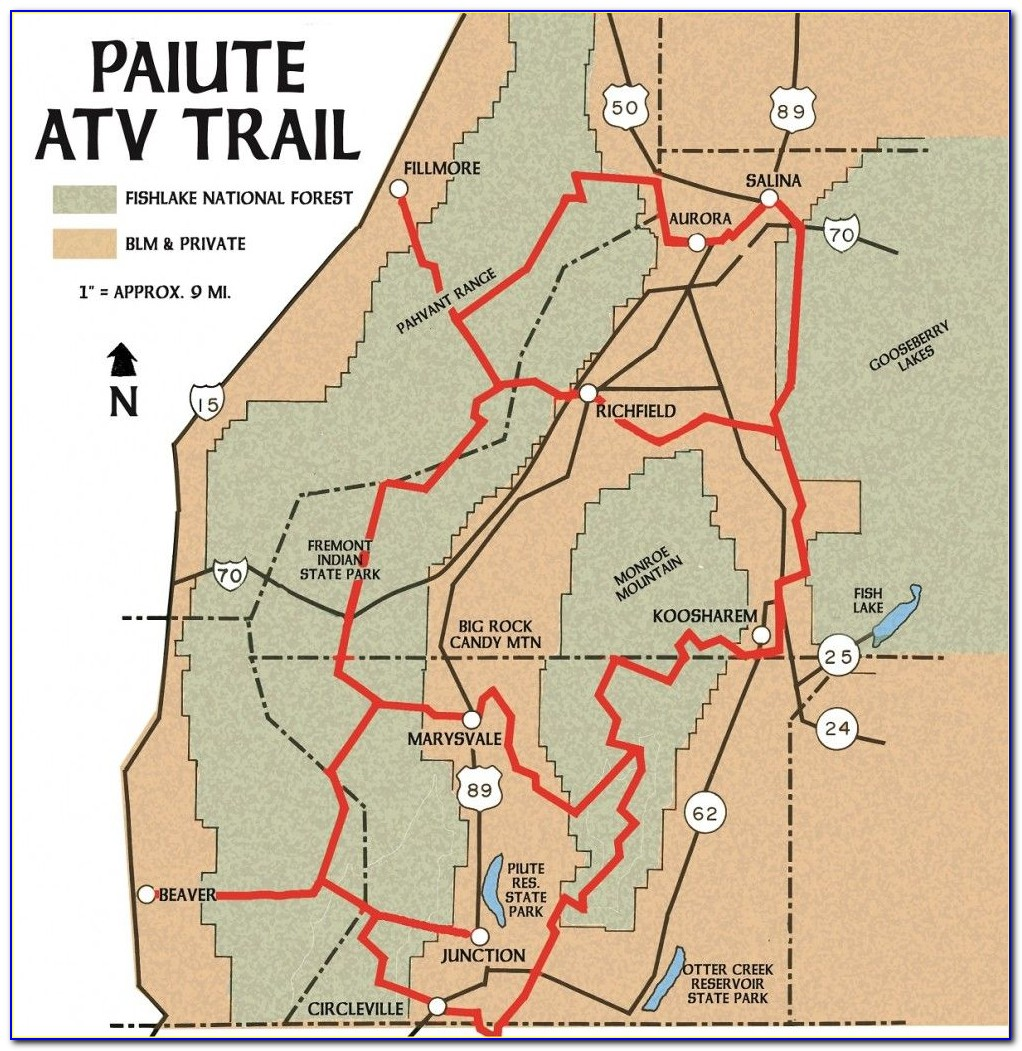 Utah Ohv Trail Maps