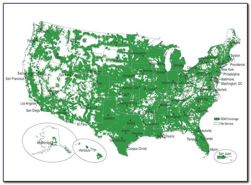 Verizon Prepaid Cell Phone Coverage Map