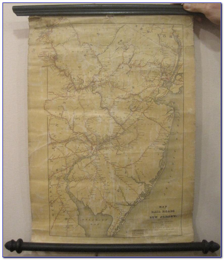 Vintage Wall Maps Uk