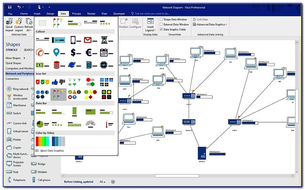 Visio Process Mapping Tool