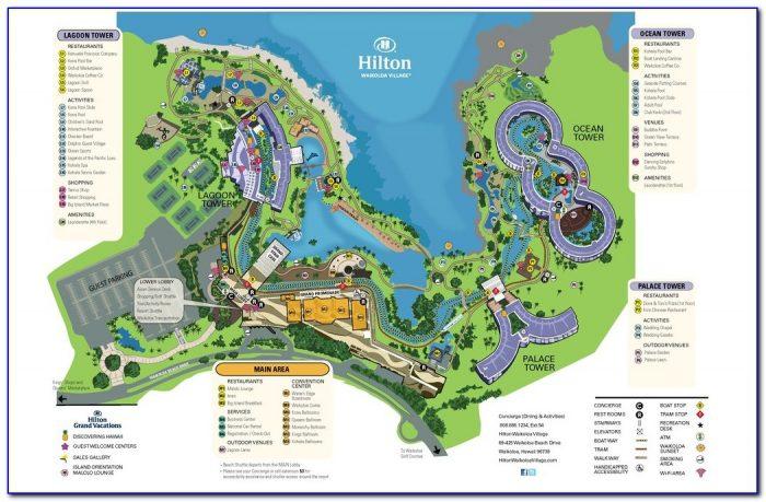 Waikoloa Accommodation Map