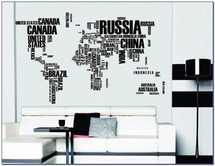 Wall Sticker Europe Map
