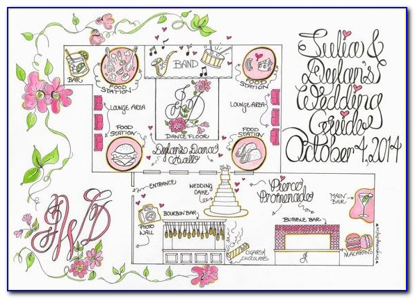 Wedding Reception Map
