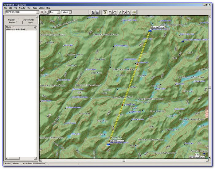 What Is A Topo Map For Garmin