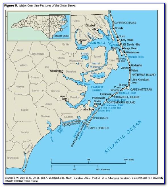 Wilmington Nc Golf Courses Map