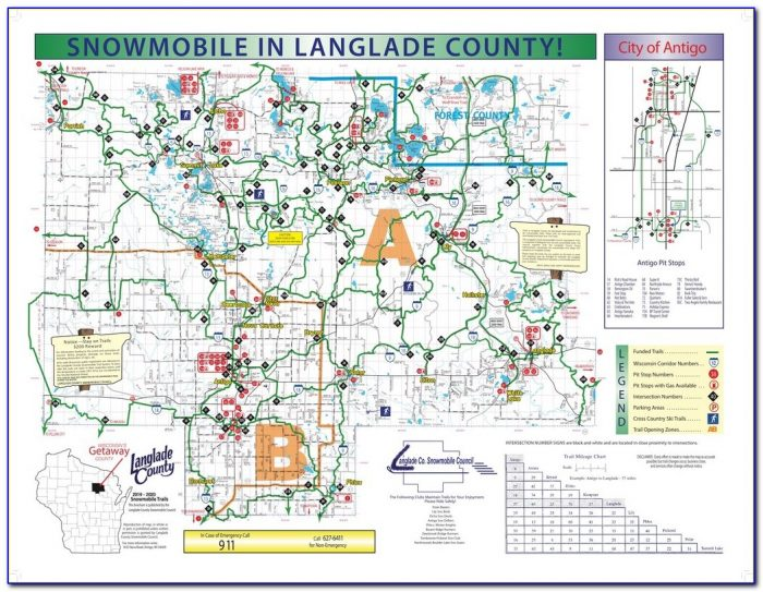 Wisconsin Snowmobile Gps Maps