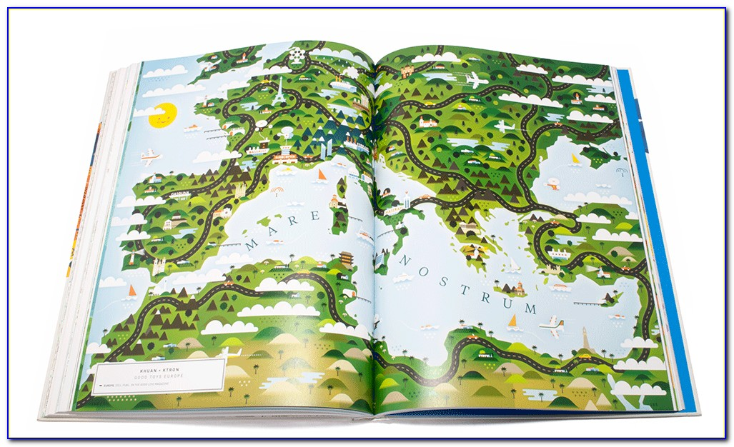 World Map Books A Million