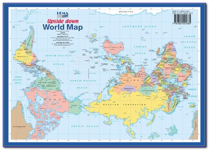 Ud World Flagsa4 Map