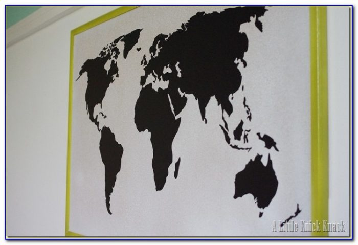 World Map Bulletin Board Ideas