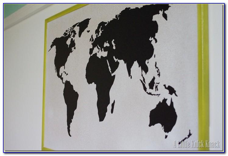 World Map Bulletin Board Ideas