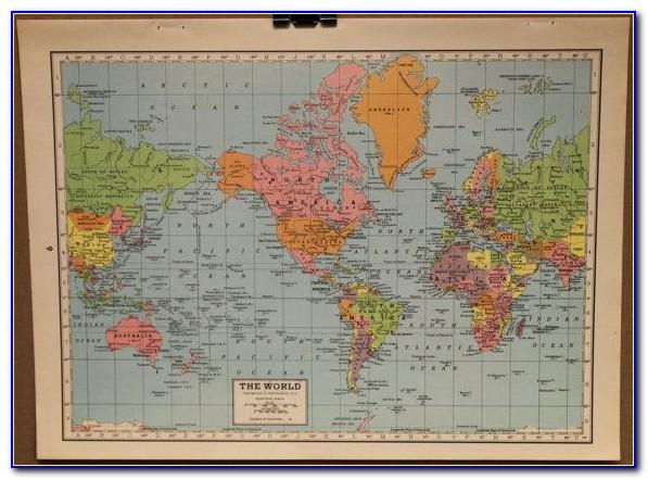 World Map Cork Board Amazon