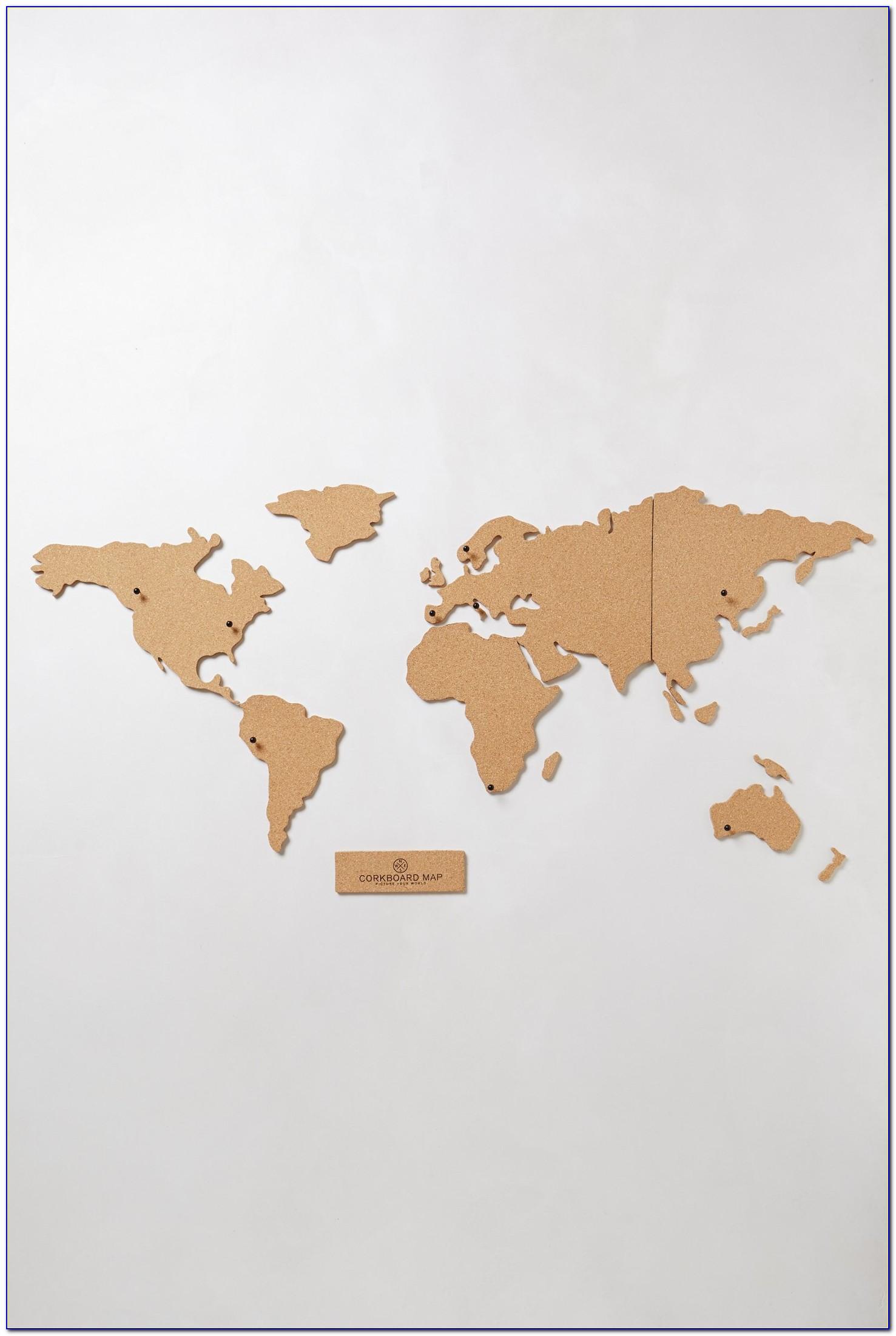 World Map Cork Board Michaels