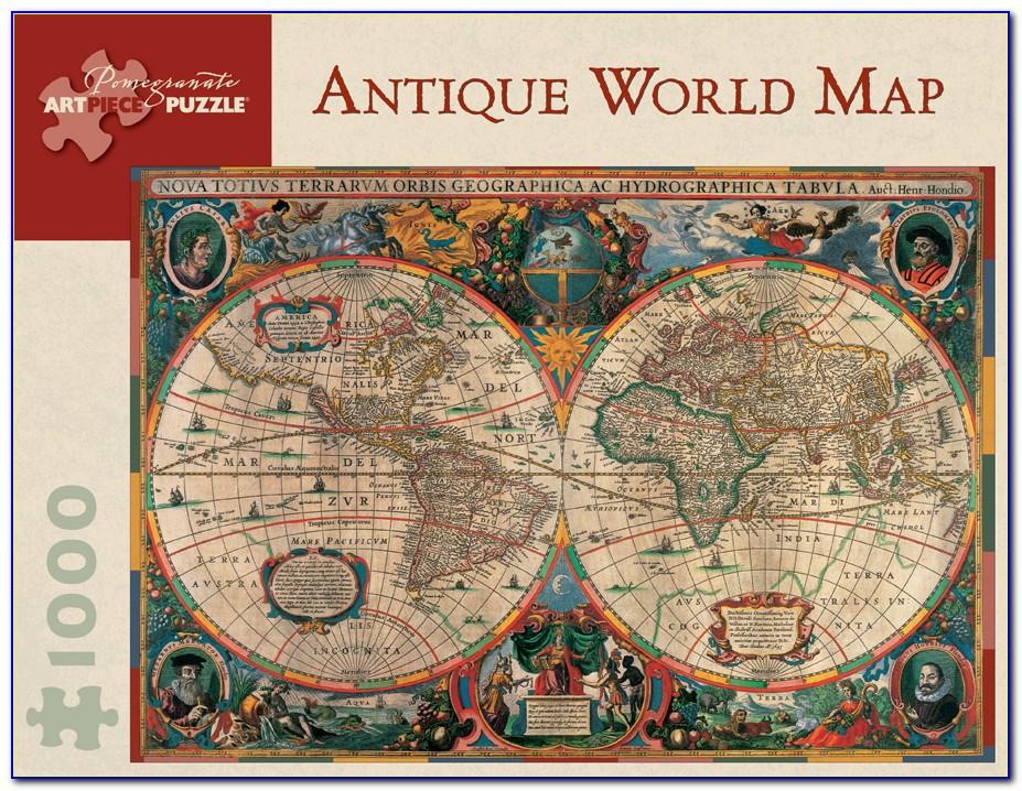 World Map Jigsaw Puzzle Amazon