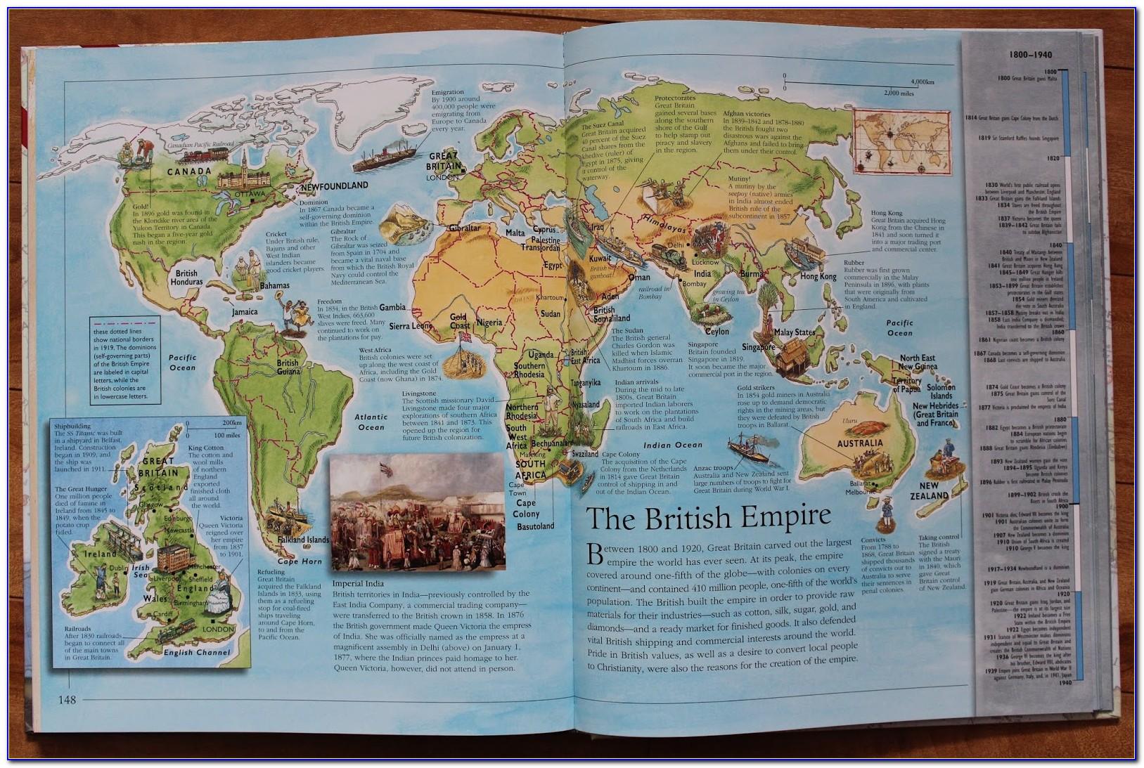 World Map National Bookstore
