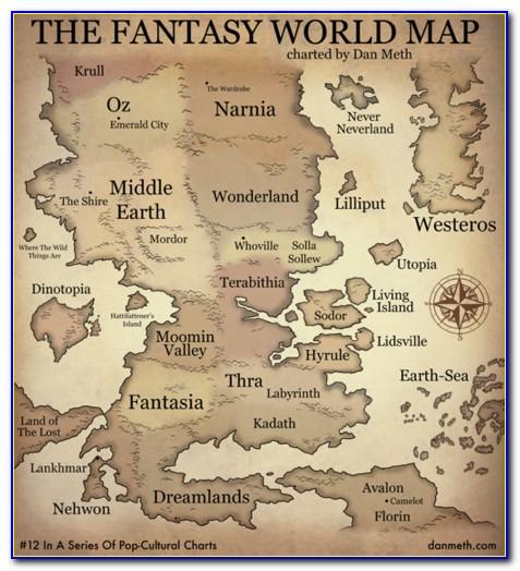 World Map Popular Bookstore