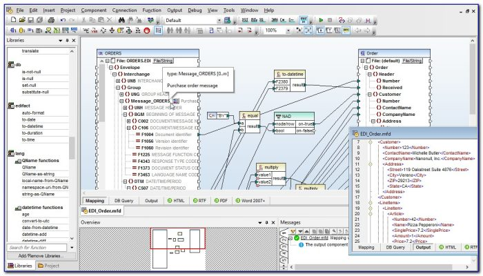 Xml To Edi Mapping