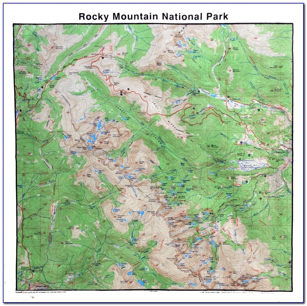 Yellowstone National Park Map Bandana