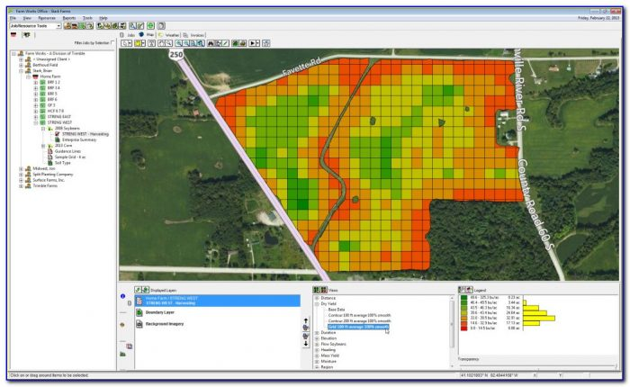 Yield Mapping Software