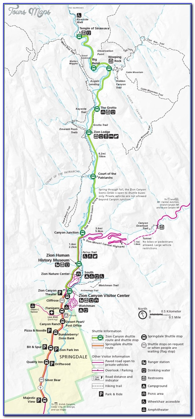 Zion National Park Usa Map 15.jpg