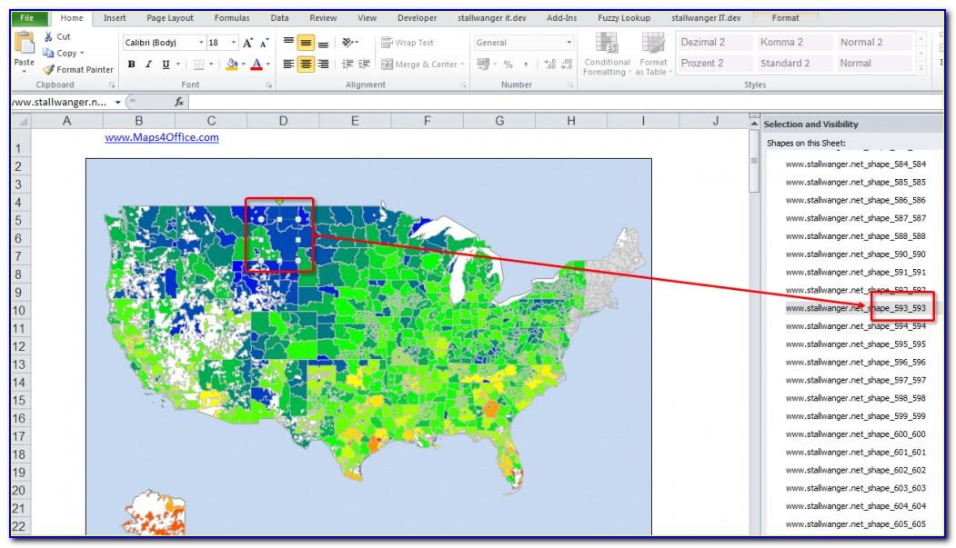 Zip Code Heat Map Software