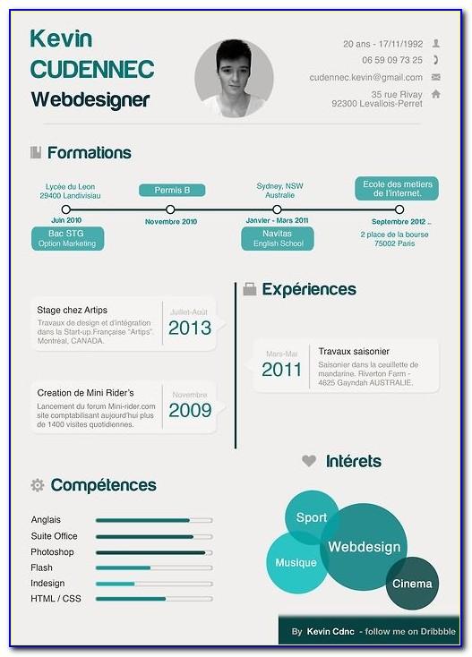 Accenture Infographic Resume Builder