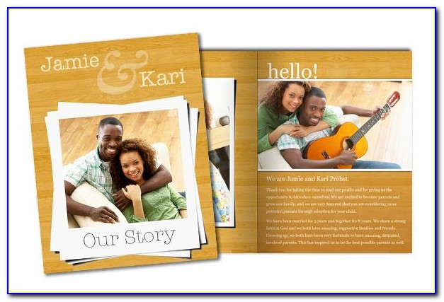 Adoption Profile Book Template