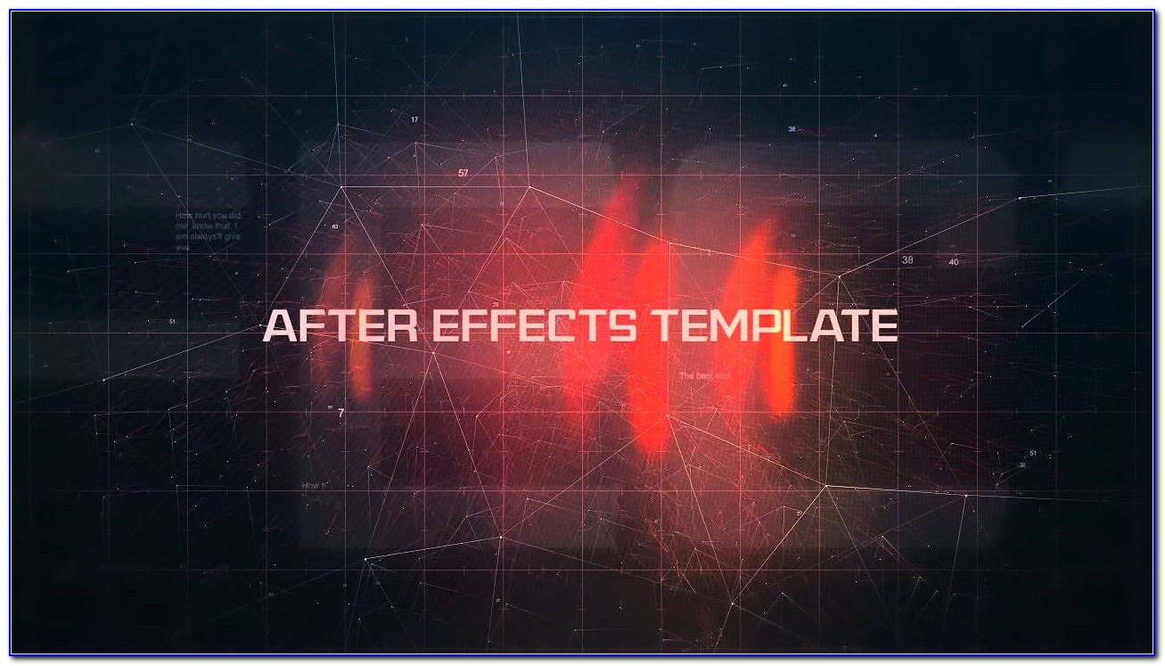 After Effects Grid Template