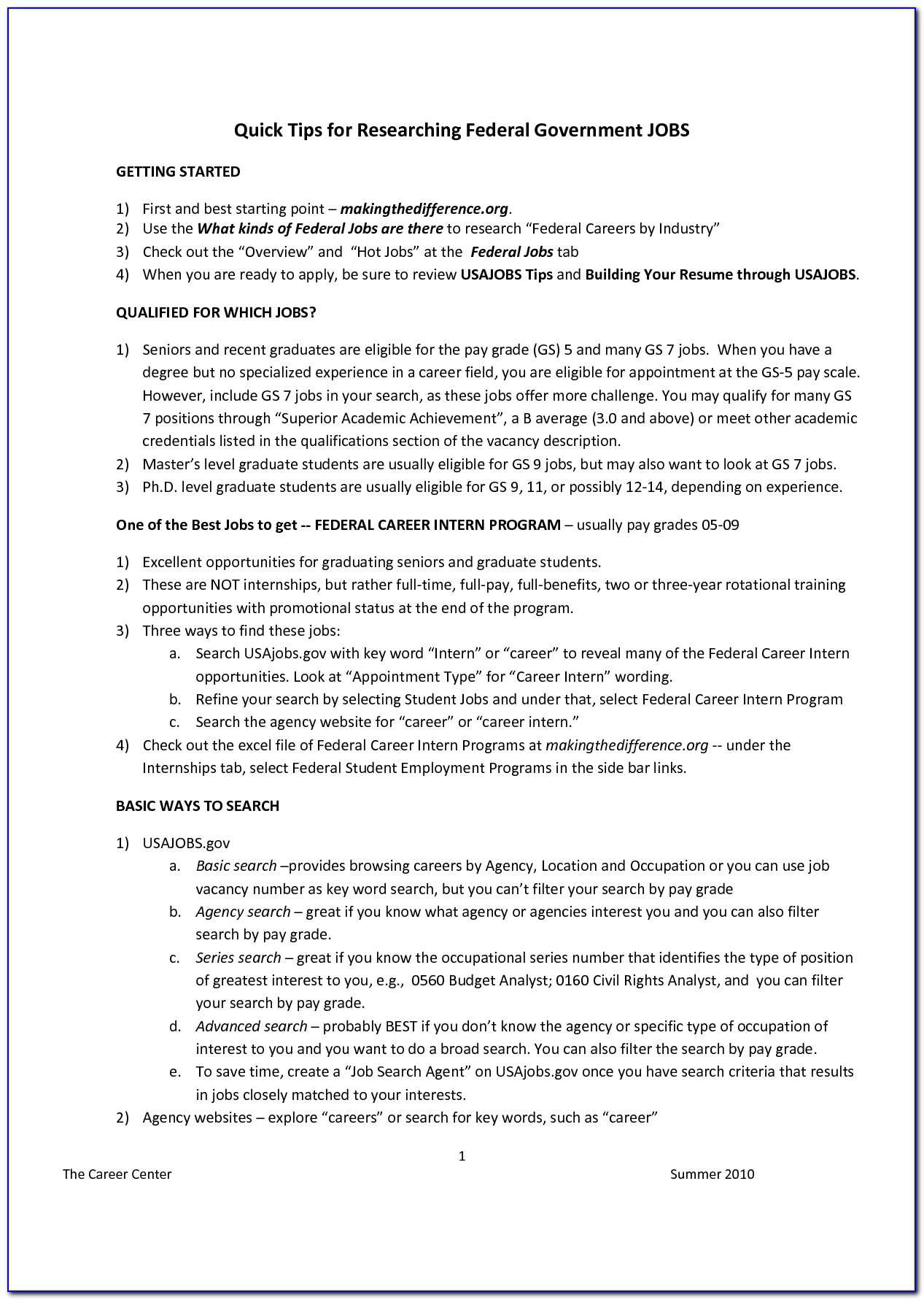 Sample Federal Resume Ksa Government Best Resume Writing Services Fko