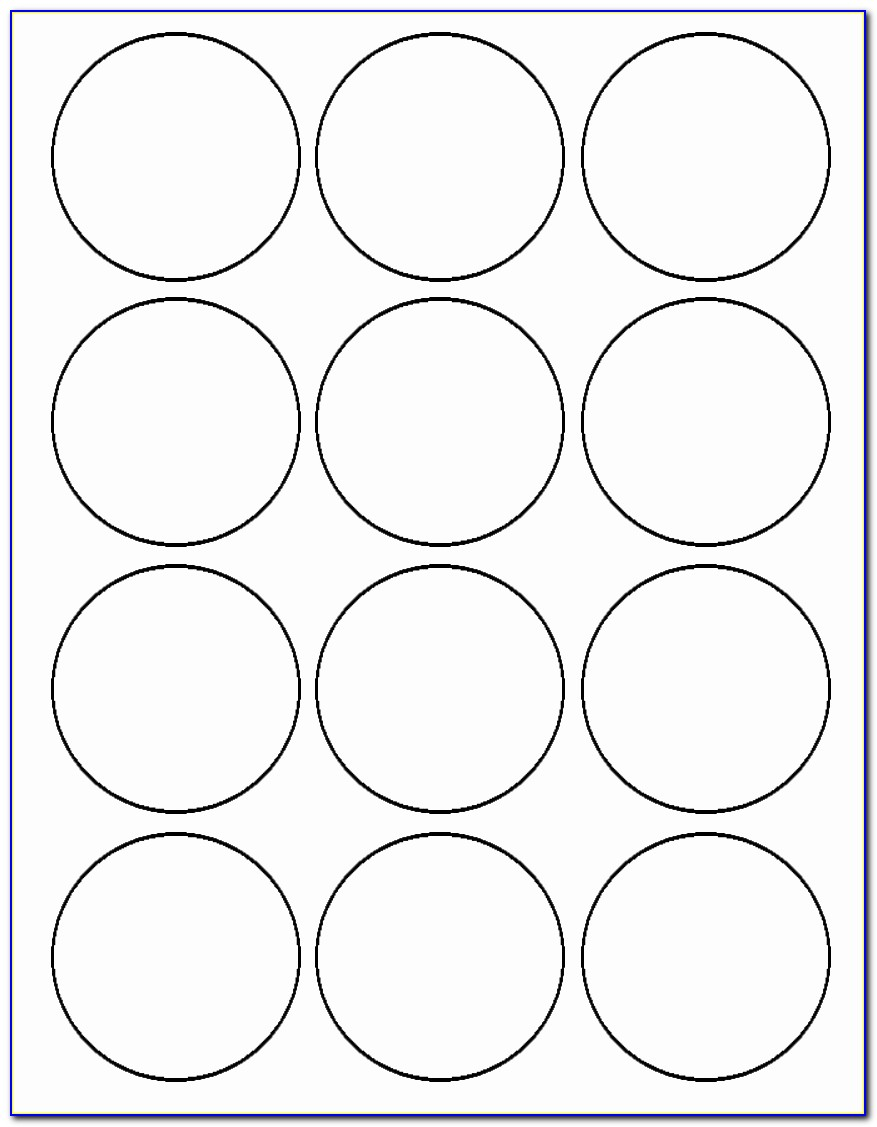 Avery 22807 Template Beautiful 2 Inch Circle Template Eliolera