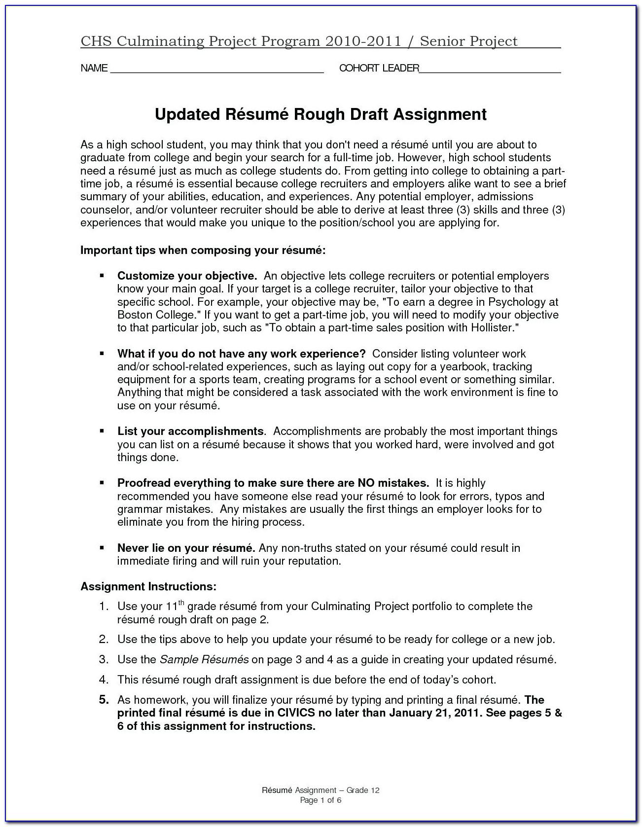 Aviation Maintenance Resume Template
